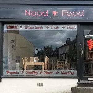 Paleo cafe in Alnwick, Northumberland - random!